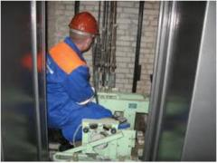 Repair of components of elevators and the lifting