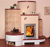 Facing of furnaces, fireplaces, the fireplace