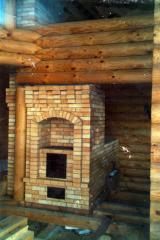 Construction, installation of furnaces,