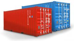 Containers 20', 40', 45' foot, the