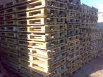 Production of euro pallets and preparation for