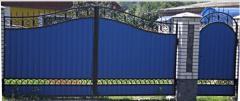 Изготовление, продажа, доставка и установка бетонных заборов. Строительство заборов в Виннице.