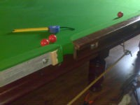 Assembly, installation, dismantle of a billiard