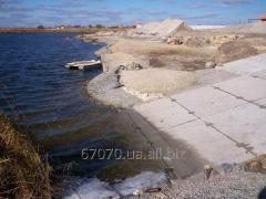 Укрепление  берегов рек