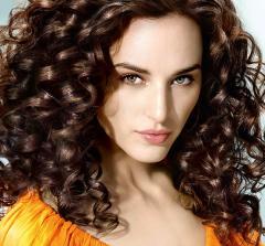 Биозавивка волос в Киеве. Завивка волос фото.