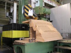 Production of the model equipment from aluminum