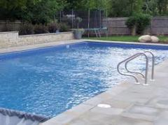 Service of swimming pools