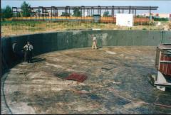 Ремонт и гидроизоляция очистных сооружений