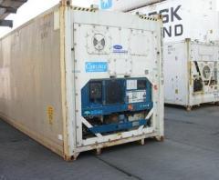 Перевозки в рефрижераторных контейнерах