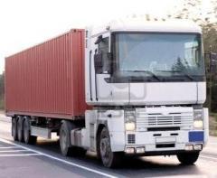 Автомобильные перевозки контейнерных грузов