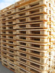 Export of pallets, pallets
