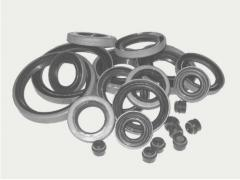 Production of products from rubber