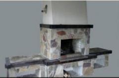 Facing of furnaces, fireplaces