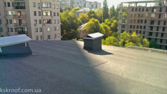 Repair of a roof over the apartment in the