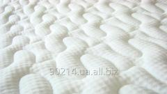 Mattress fabric insertion on fillers