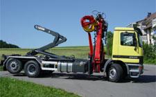 Repair of Palfinger cranes manipulators,