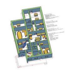 Services in design of laboratories
