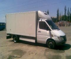 Доставка тяжеловесных грузов.