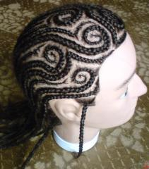 Afro-braids, the Egyptian braids, Dreda, Patten