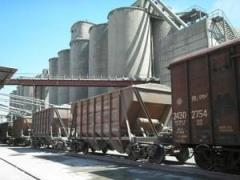 Sand delivery by rail across Ukraine