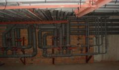 Проектирование и монтаж внутренних инженерных систем