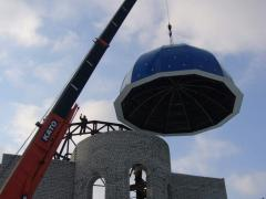 Construction of domes.