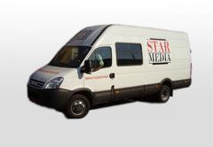 Re-equipment of the minibuses Spline