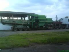 Transportations of agricultural machinery