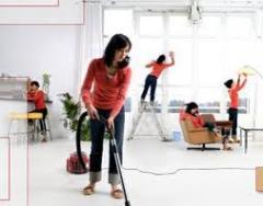 Комплексная уборка квартир,  домов,  офисов