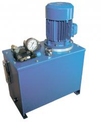 Production of hydraulic pump stations