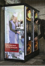 Installation and service of vending machines