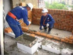 Общестроительные работы (домов,  коттеджей, ...