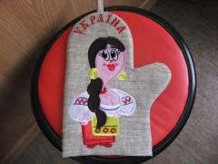 Embroidery of products