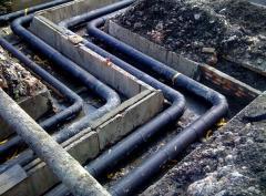 Проведение анализа проектов тепловых сетей
