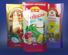 Production of packaging for dairy products; for