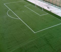Construction and certification of football fields