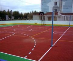 Modular covering for mini-soccer
