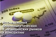 Анализ сегментов фармацевтического рынка