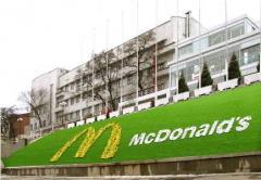 Реклама на клумбах в Харькове