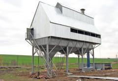 Реконструкция зерновых комплексов ЗАВ