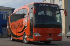 Обслуживание городских и междугородных автобусов
