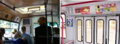 Реклама в салонах общественного транспорта
