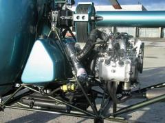 Элементы сборки вертолета