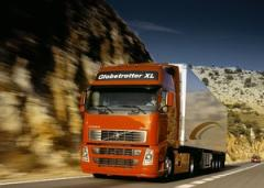 Services in transportation of goods, international