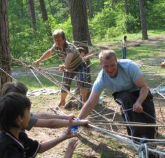 Веревочный курс. Активный тренинг