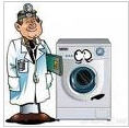 Repair of washing machines with departure on the