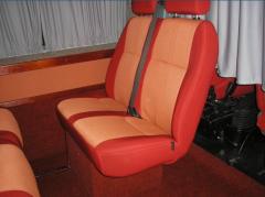 Перетяжка салона автобуса Черновцы