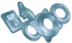 Cast iron molding, steel molding