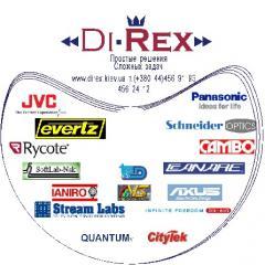 Duplication of DVD disks of cues