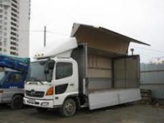 Road haulage on the city of Lutsk